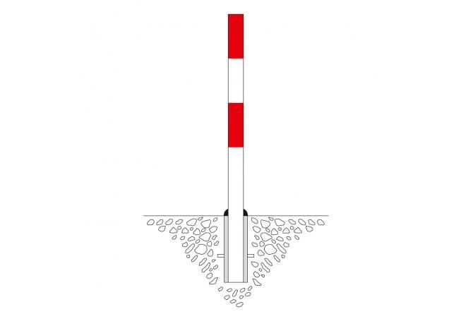 Parat A afdekkap voor bodemhuls 76mm #1   Uitneembaar   Groven Store Safety