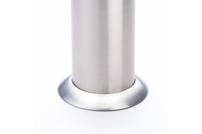 Sokkelring edelstaalpaal, 76mm Ø #1 | Edelstaal palen | Groven Store Safety