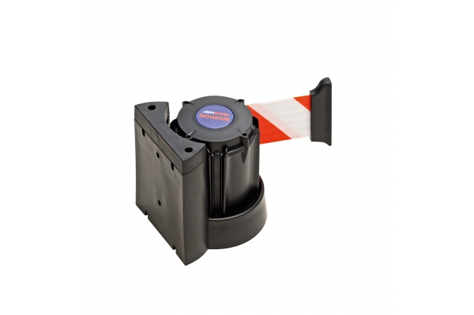 MORION wandriem 4000mm magnetisch #1 | Afzetpaal met trekband | Groven Store Safety