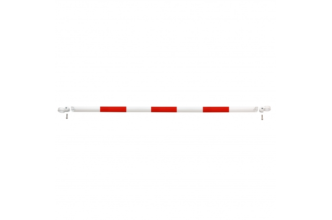 MORION systeembalustrade 2000mm rood/wit #1 | Veiligheidsrailing | Groven Store Safety