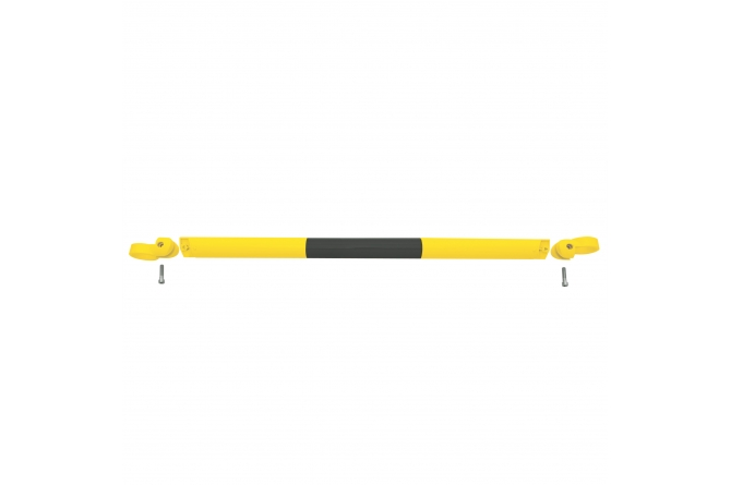 MORION systeembalustrade 1000mm geel/zwart #1   Veiligheidsrailing   Groven Store Safety