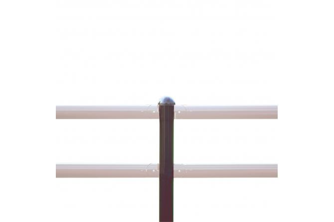 MORION staanpaal afdekkap rood/wit, te pluggen #1   Veiligheidsrailing   Groven Store Safety