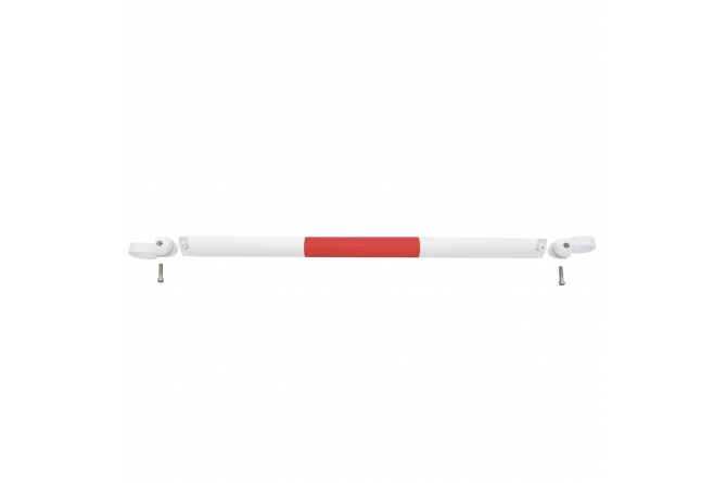 MORION systeembalustrade thermisch verzinkt rood/wit 1000mm #1   Veiligheidsrailing   Groven Store Safety