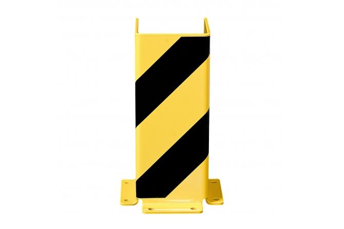 Black Bull aanrijdbeveiliging U-profiel #1   Hoekbescherming   Groven Store Safety