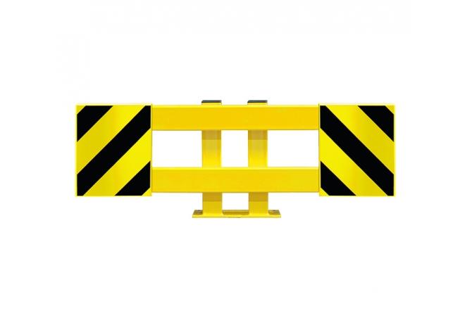 black bull stellingbeschermer enkelstelling set 900-1300mm #1 | Aanrijdbeveiliging stelling | Groven Store Safety