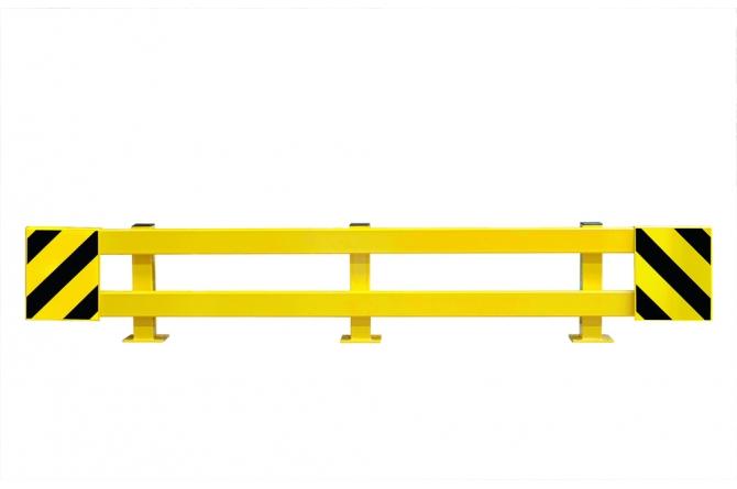 Black bull rambeveiligingsplank dwarsligger. 1500x100x40mm #1 | Rambeveiligingsplanken | Groven Store Safety