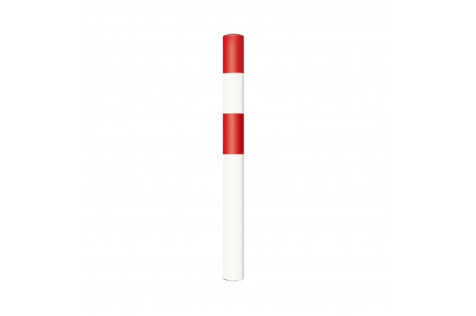 Black Bull rambeveiligingspaal S betonneren rood wit #1 | Rampaal | Groven Store Safety