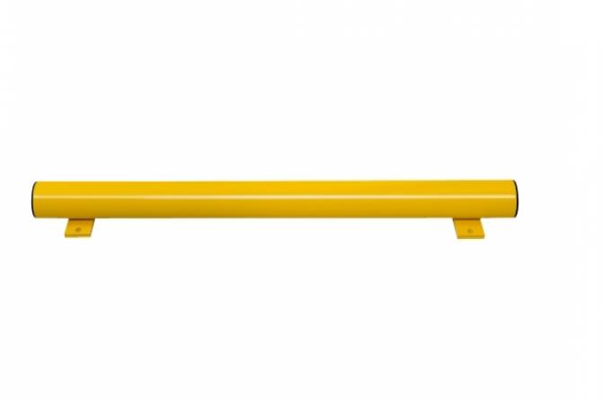 beveiligingsbalk thermisch verzinkt staal kunststof l1250mm #1   Wielgeleider   Groven Store Safety