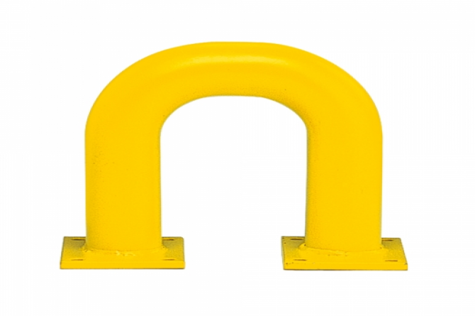 black bull rambeveiligingsbeugel 350x375mm geel #1 | Beschermingsbeugel | Groven Store Safety
