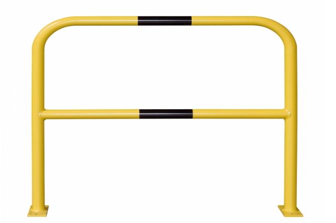 aanrijdbeveiliging beugel staal gecoat kunststof h1000xb1000mm #1   Beschermingsbeugel   Groven Store Safety