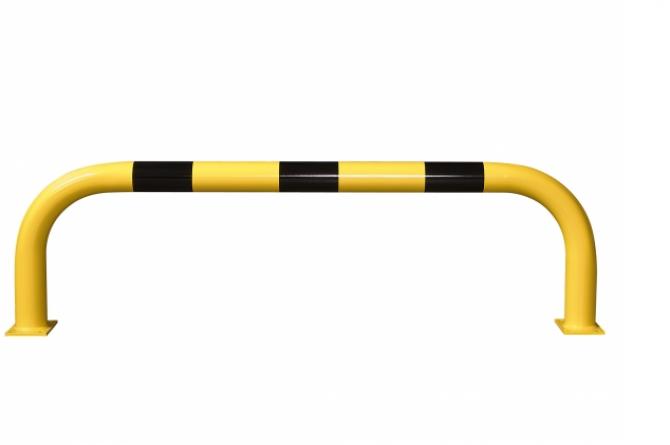 aanrijdbeveiliging beugel staal gecoat kunststof xl h600xb2000mm #1   Beschermingsbeugel   Groven Store Safety