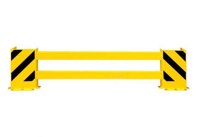 black bull stellingbeschermer dubbelstelling 1700-2100mm #1   Aanrijdbeveiliging stelling   Groven Store Safety