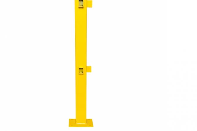black bull rambeveiliging s-line hoek 1000x70x70mm #1   Veiligheidsrailing   Groven Store Safety