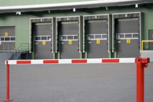 Slagboom 3820mm vaste oplegpaal gasdrukveer #2 | Slagbomen | Groven Store Safety