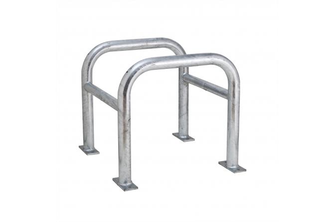 MORION zuilbescherming 2-delig 600x620x620mm #1 | Paalbeschermer | Groven Store Safety