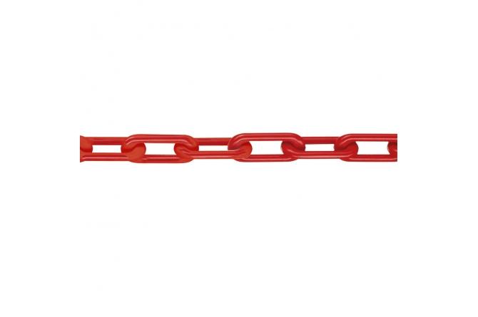 MNK Klasse 8 afzetkettingen 25m rood #1 | Afzetketting | Groven Store Safety