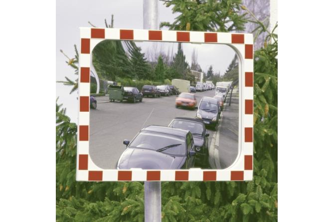 DIAMOND verkeersspiegel 800x1000mm verwarming #1 | Veiligheidsspiegels | Groven Store Safety