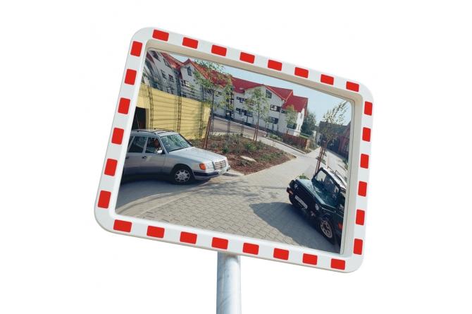EUCRYL verkeersspiegel 600x800mm #1 | Veiligheidsspiegels | Groven Store Safety