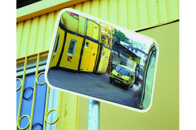 SPION industriespiegel rechthoekige spiegel 400x600mm #1   Veiligheidsspiegels   Groven Store Safety