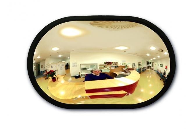 INDOOR ruimtespiegel 520x320x85mm. #1   Veiligheidsspiegels   Groven Store Safety