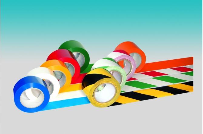 PROLine tape bodemmarkering zelfklevend wit #1 | Markeringstape | Groven Store Safety