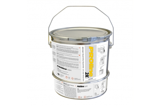 Proline paint 2 componenten vloerverf 5 ltr ral 1003 #1   Vloerverf   Groven Store Safety