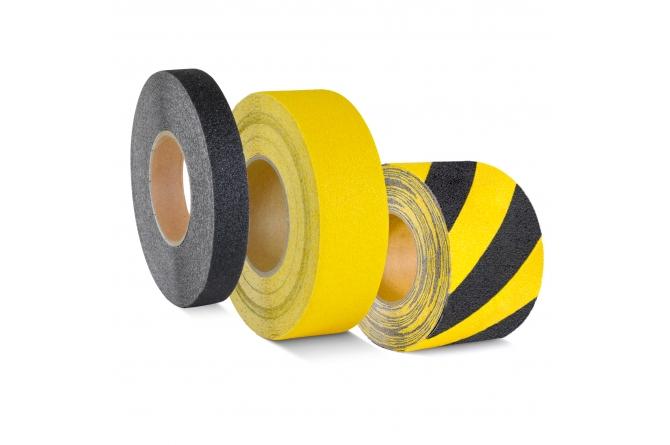 PROLine anti-slip bedekking geel/zwart rol 18,3m #1 | Markeringstape | Groven Store Safety