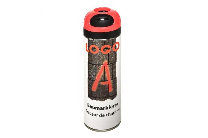 Logo a boom marker 500ml oranje fluoriserend #1 | Bodemmarkering | Groven Store Safety