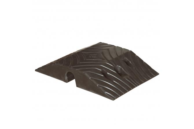 Topstop 10, verkeersdrempel zwart,  standaardelement.405x250x70mm #1   Verkeersdrempels   Groven Store Safety