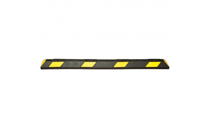Wielstop park it, 1800x150x100mm, zwart/geel #1 | Wielstopper | Groven Store Safety