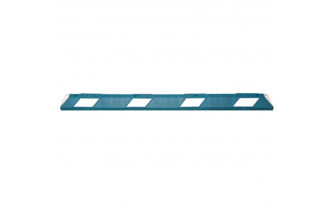 Wielstop park it, 1800x150x100mm, blauw/wit #1   Wielstopper   Groven Store Safety