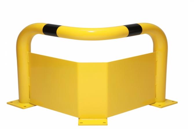 black bull hoek rambeveiligingsbeugel plint 600x600x600mm #1 | Beschermingsbeugel | Groven Store Safety