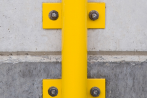 morion beveiligingsbeugel 1300x1000mm gele kunststof #2 | Beschermingsbeugel | Groven Store Safety