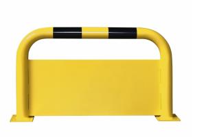aanrijdbeveiliging beugel staal gecoat kunststof hoog 400mm plint #2   Beschermingsbeugel   Groven Store Safety