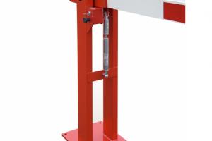 Slagboom 3820mm vaste oplegpaal gasdrukveer #3 | Slagbomen | Groven Store Safety