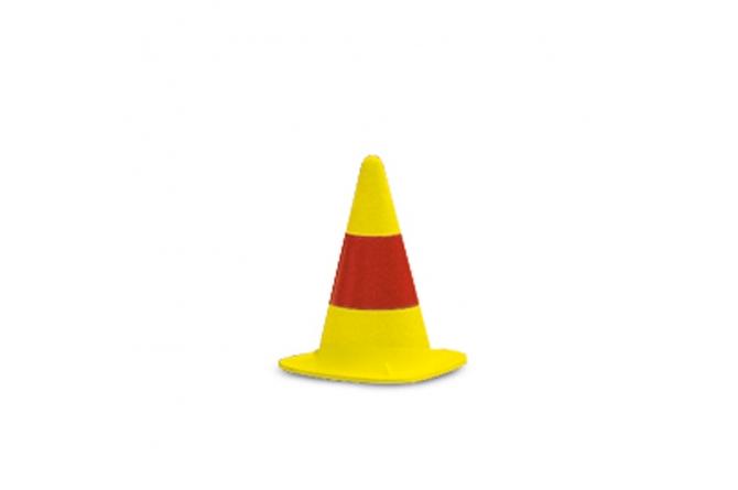 EUROPA verkeerskegel geel H510mm #1 | Pion | Groven Store Safety
