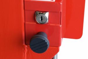 Slagboom 3820mm vaste oplegpaal gasdrukveer #4 | Slagbomen | Groven Store Safety