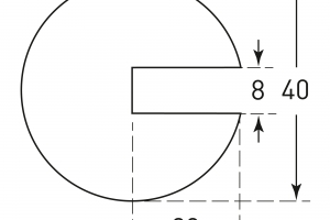 MORION profielbescherming 40x40x8mm #2 | Stootbanden | Groven Store Safety