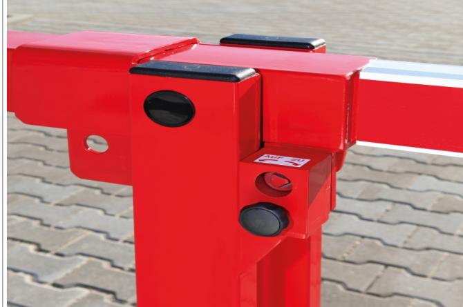 Slagboom met vaste oplegpaal 6500mm #1   Slagbomen   Groven Store Safety