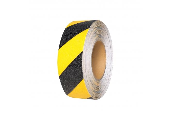 PROLine anti-slip tape geel/zwart 18,3m #1 | Markeringstape | Groven Store Safety