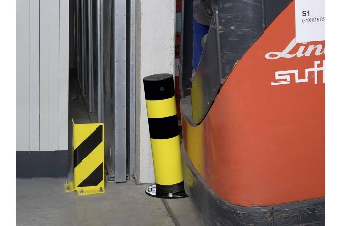 Black Bull rambeveiligingspaal SWING thermisch verzinkt #1 | Rampaal | Groven Store Safety