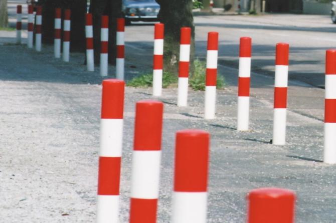 Morion afzetpaal, 76mm te betonneren #1 | Om in te betonneren vast | Groven Store Safety