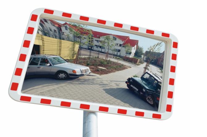 EUCRYL verkeersspiegel 1000x1200mm #1 | Veiligheidsspiegels | Groven Store Safety
