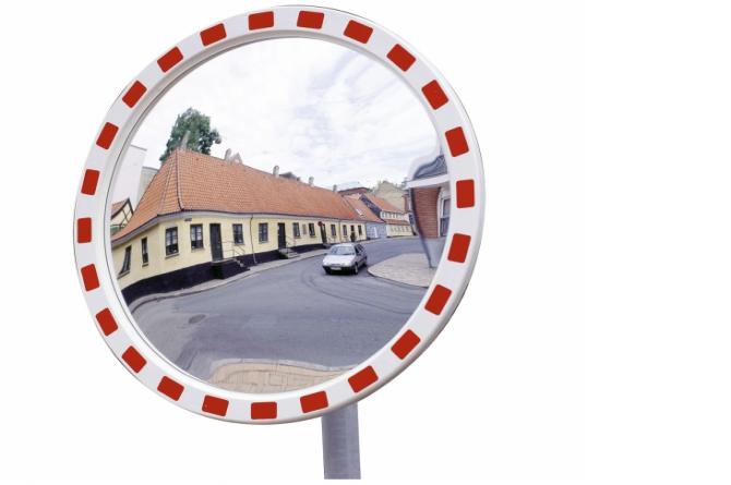EUCRYL verkeersspiegel 600mm Ø #1   Veiligheidsspiegels   Groven Store Safety