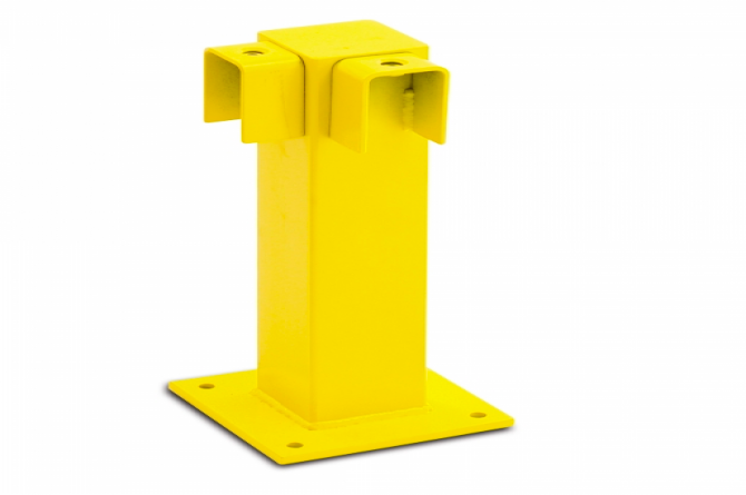 black bull rambeveiliging hoek 500x100x100mm #1 | Veiligheidsrailing | Groven Store Safety