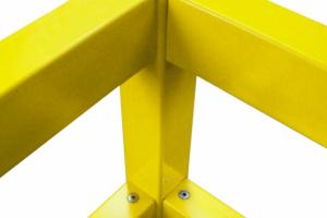 black bull rambeveiliging hoek 500x100x100mm #2 | Veiligheidsrailing | Groven Store Safety