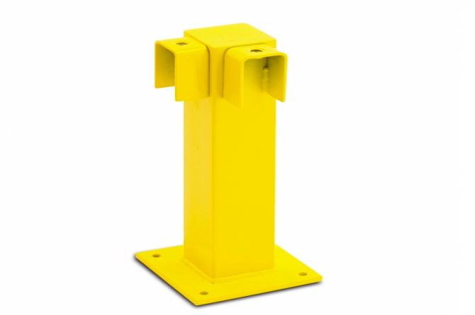 black bull hoek rambeveiliging 500x100x100mm #1 | Veiligheidsrailing | Groven Store Safety