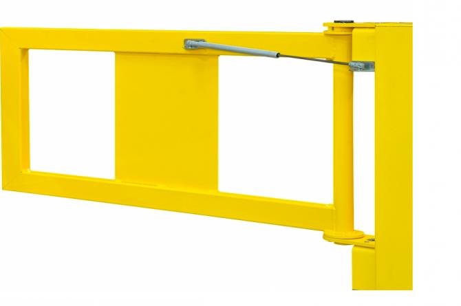 black bull balustrade deur xl-line 905x520mm #1   Veiligheidsrailing   Groven Store Safety