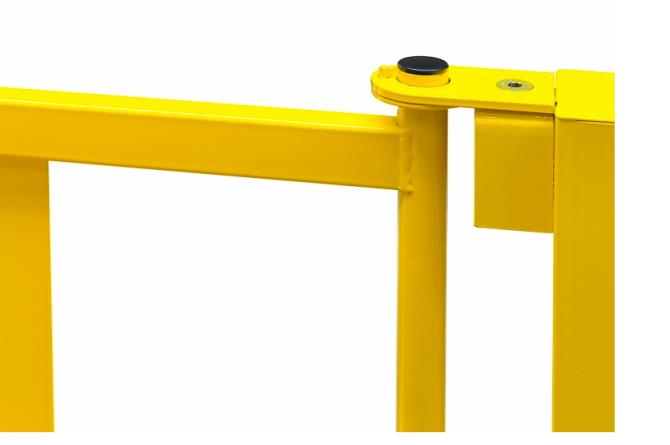 black bull balustrade deur s-line 905x520mm #1   Veiligheidsrailing   Groven Store Safety