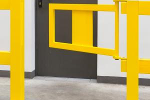 black bull balustrade deur s-line 905x520mm #2   Veiligheidsrailing   Groven Store Safety